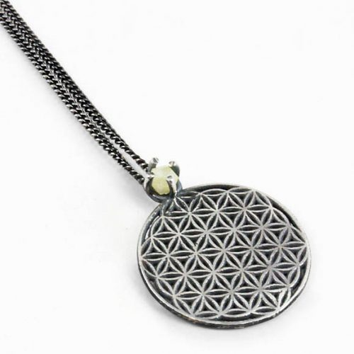 Pendant Flower of Life Antique