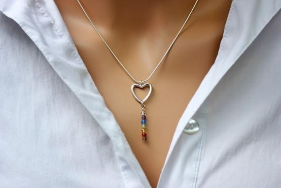 Chakra Pendant Heart