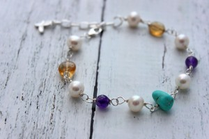 Crystal Bracelet with Turquoise