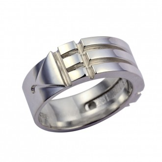 Atlantis Ring Sterling Silver