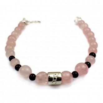 rose-quartz-bracelet-onyx