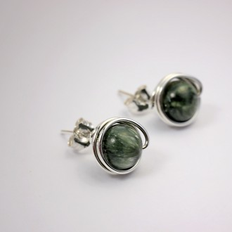 Seraphinite Earrings
