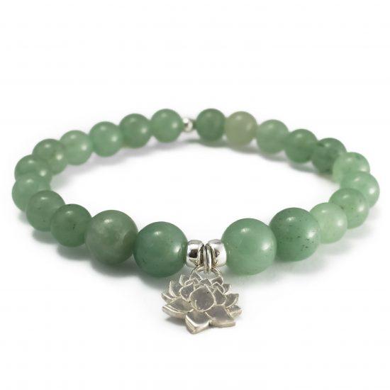 Bracelet Lotus Aventurine