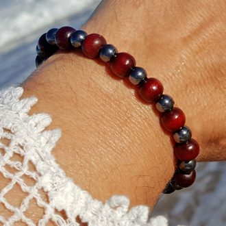 Shiny ground bracelet